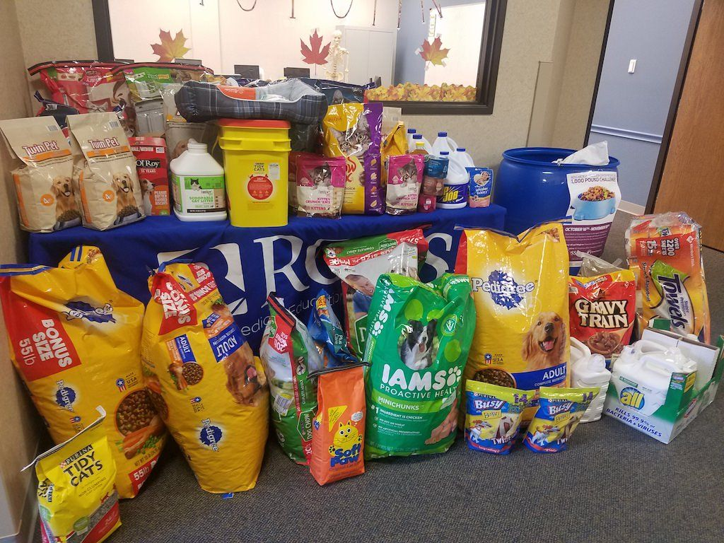 Ross Medical in Owensboro Collects Over 1000 Pounds of Pet