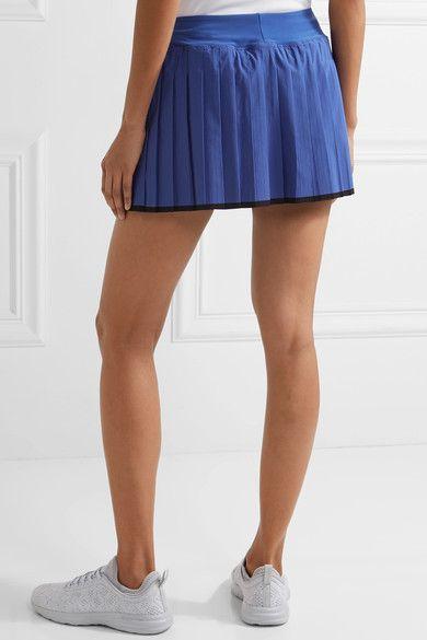 e7768f510c Nike - Victory Pleated Dri-fit Stretch Tennis Skirt - Blue ...