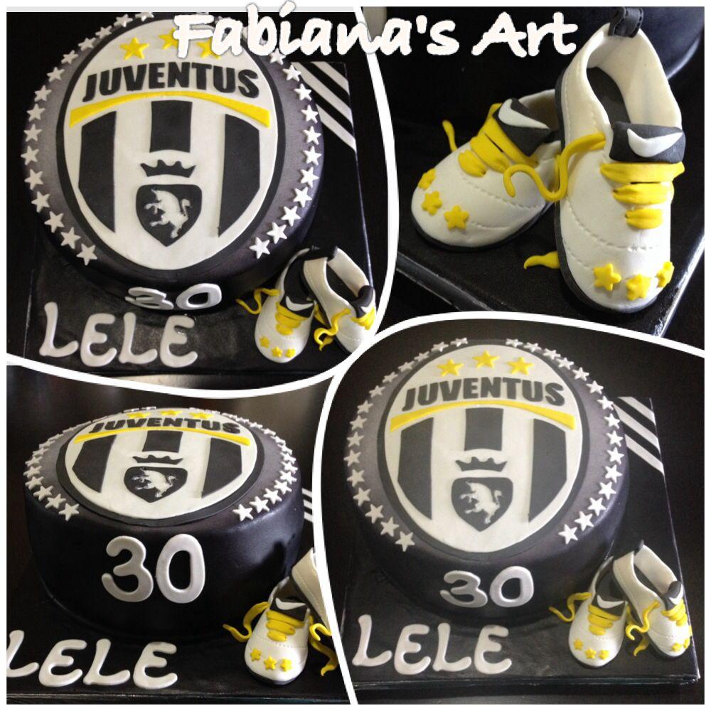 torta juve   torte compleanno...   pinterest   cake designs and cake - Decorazioni Torte Juventus