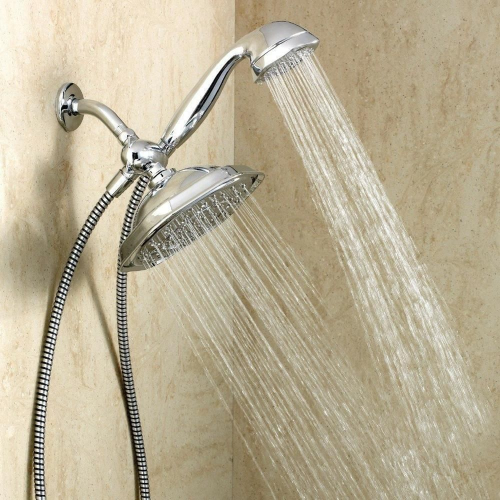 Moen Refresh Dual Hand Held And 9 Inch Rain Shower Head Combo