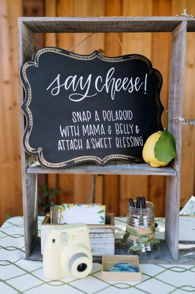 Cheese chalkboard party signage from a Rustic Lemon Themed Baby Shower on Kara's Party Ideas    (15