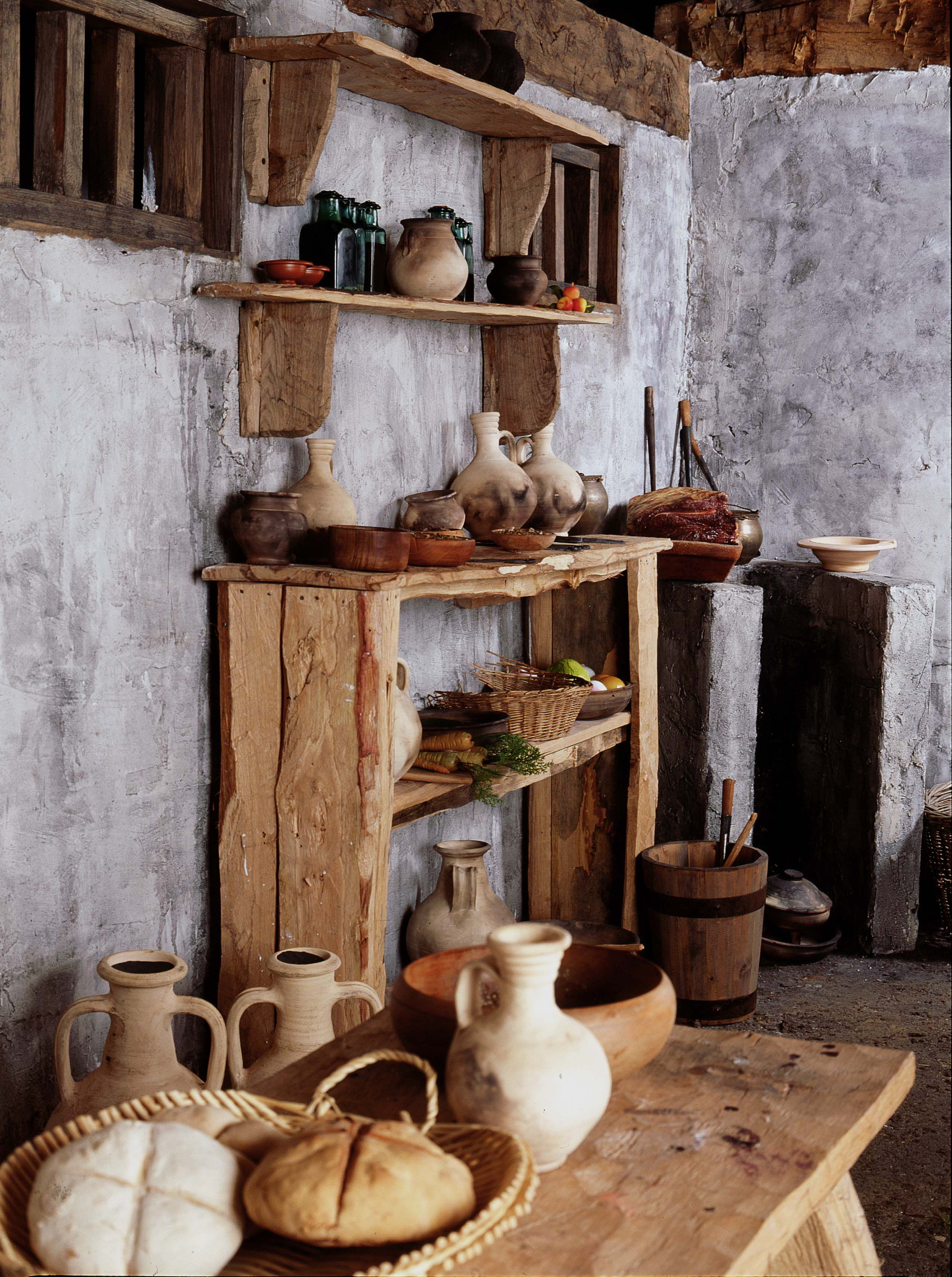 Küche Antikes Griechenland Roman Kitchen Reconstruction Based On Finds From 1 Poultry
