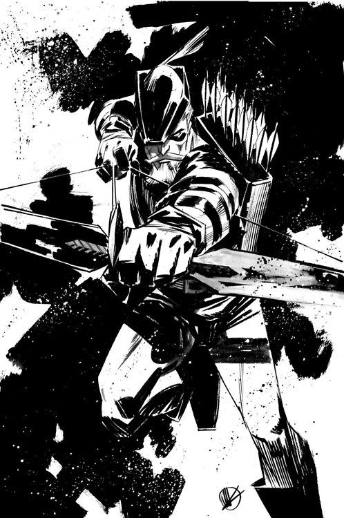 Pin By Bear1na On Artist Matteo Scalera Drawing Superheroes Graphic Novel Art Green Arrow