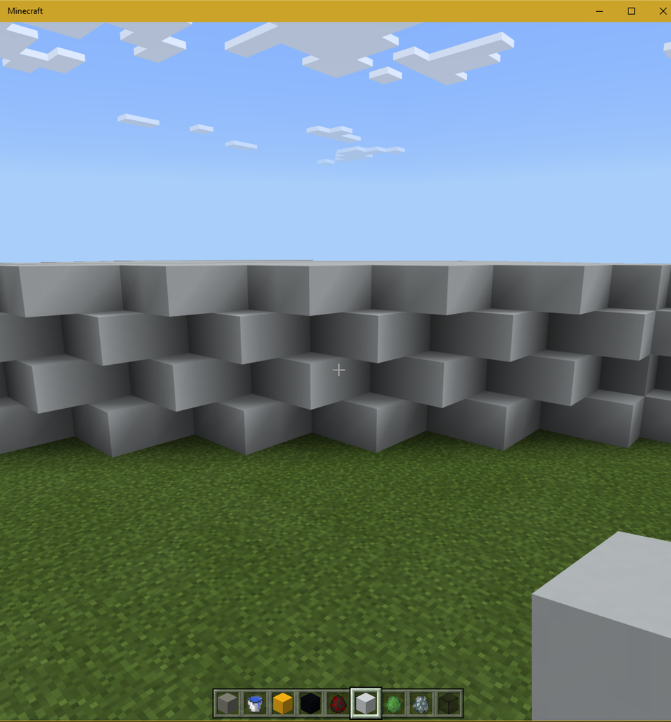 What S An Interesting Block Palette For This Diagonal Wall Shape