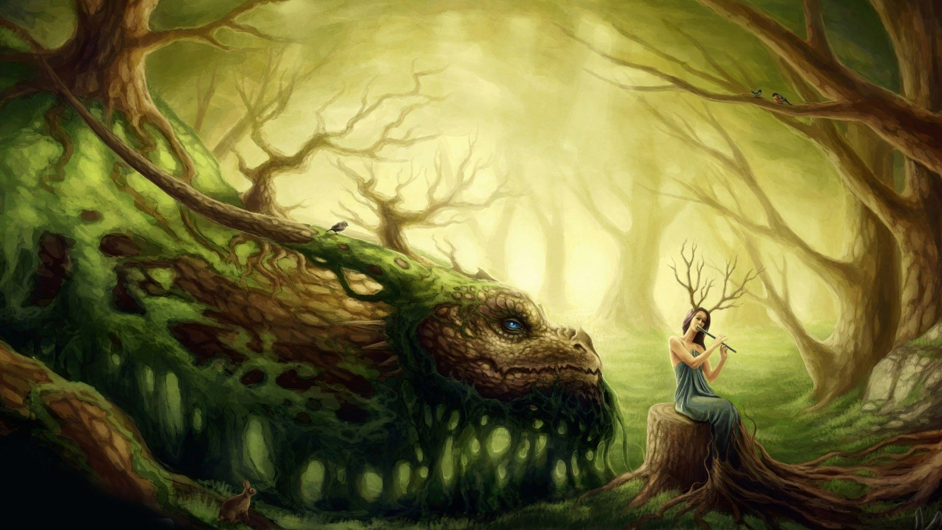 Screensavers Fairies And Dragons Download Free Google Search Fairy Dragon Forest Fairy Fairy Wallpaper