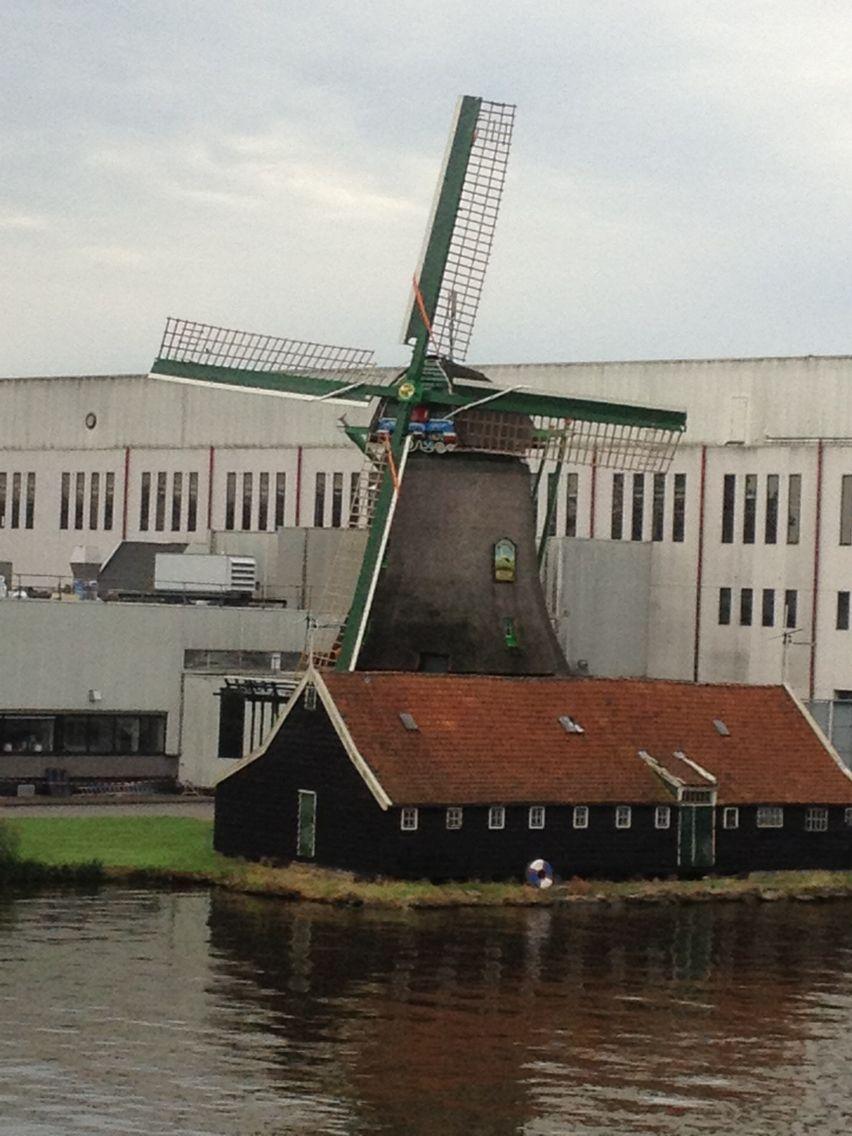 Olanda - Amsterdam di vento
