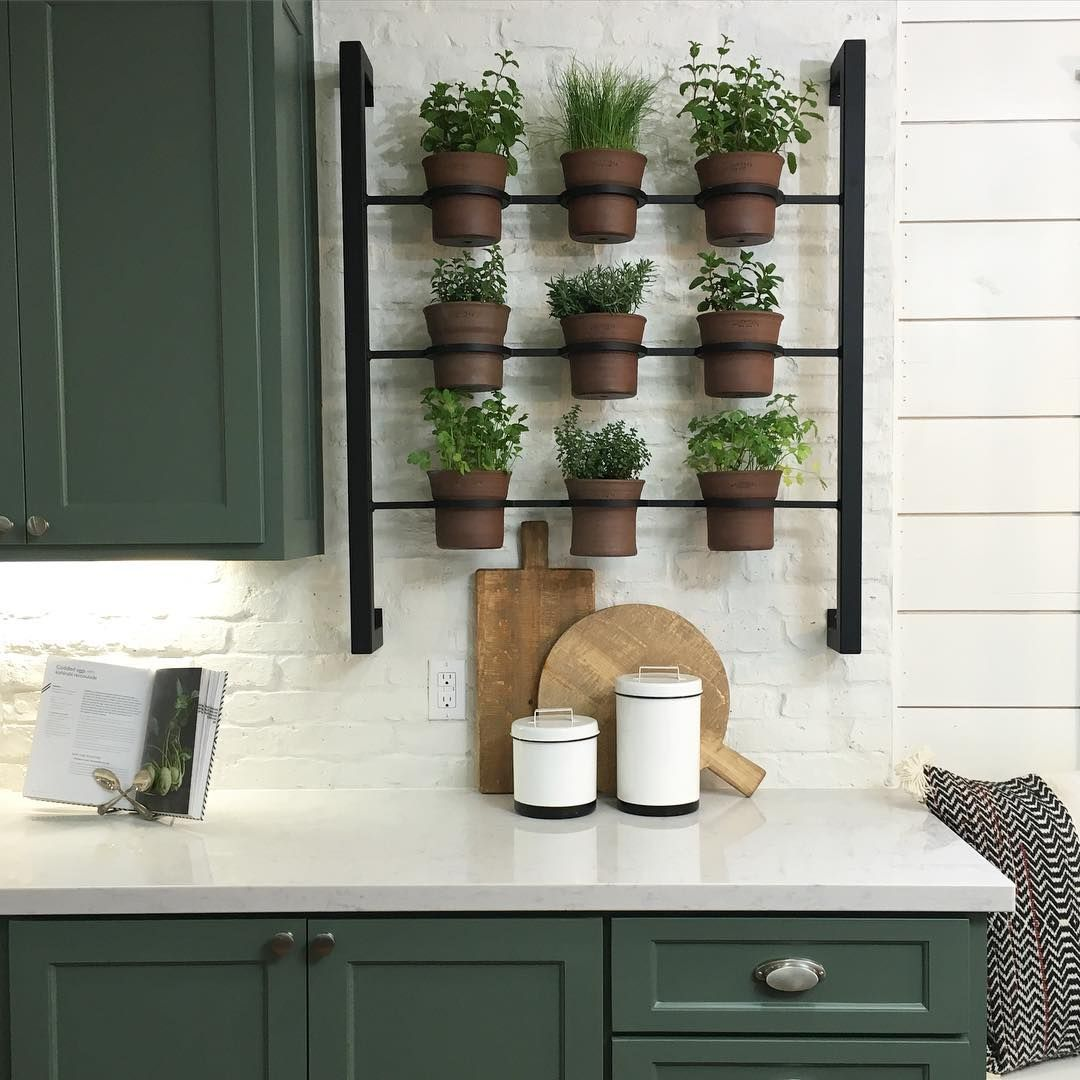 Kitchen Herb Garden Indoor 10 Kitchen Organization Tips To Steal From Chip And Joanna Gaines