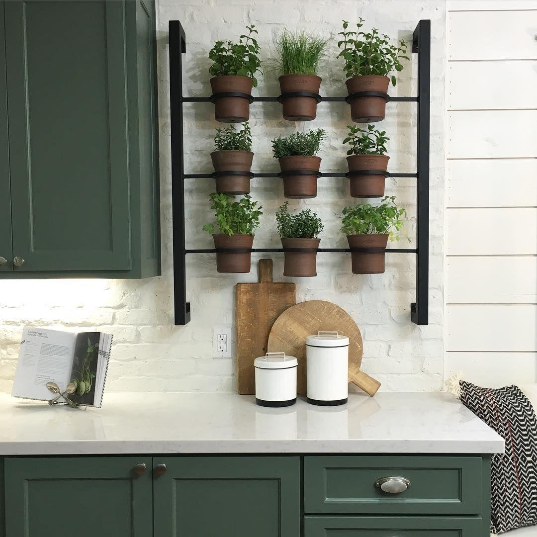 joanna gaines spilled her best gardening secret herb on indoor herb garden diy wall kitchens id=89144