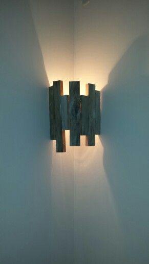 Applique Bois De Palette Deco Decor Lighting Et Wall Lights