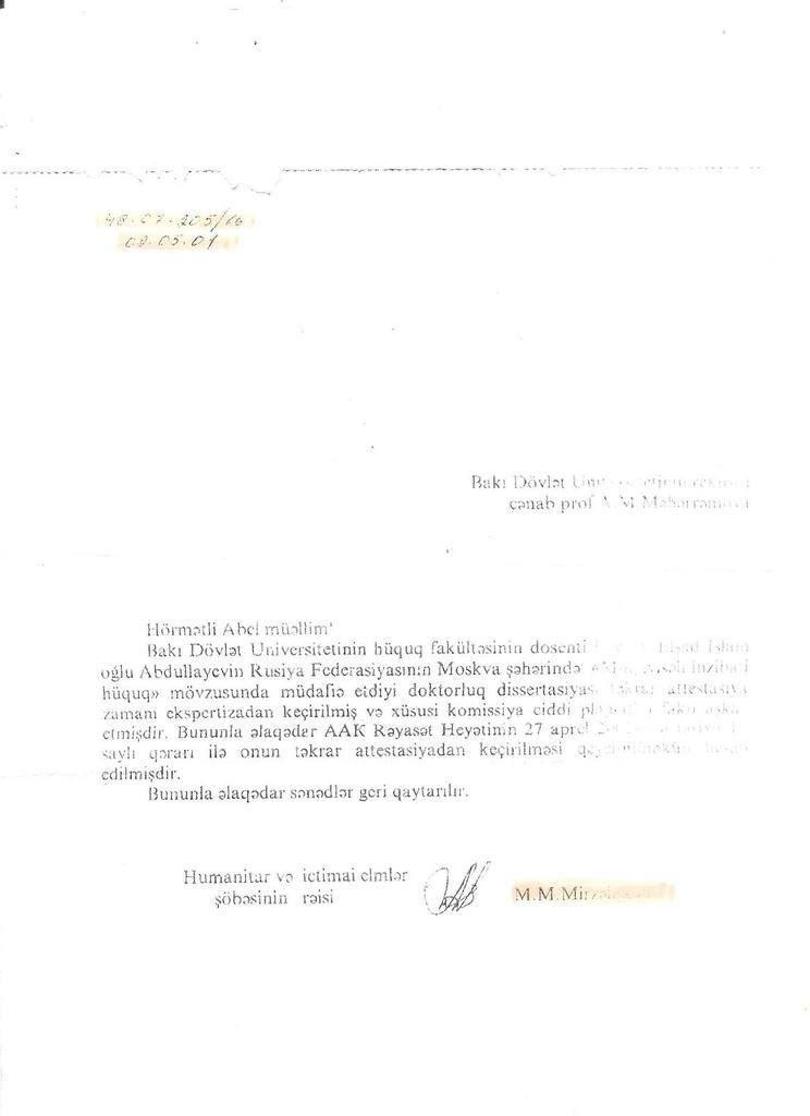 The Diploma Of The Professor Swindler Of Law Elshad Abdullayev Was Fake Euro Asia New S Internet Newspaper Professor Paris Youtube