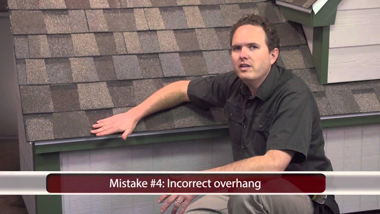 Installing Asphalt Shingles 5 Common Mistakes to Avoid
