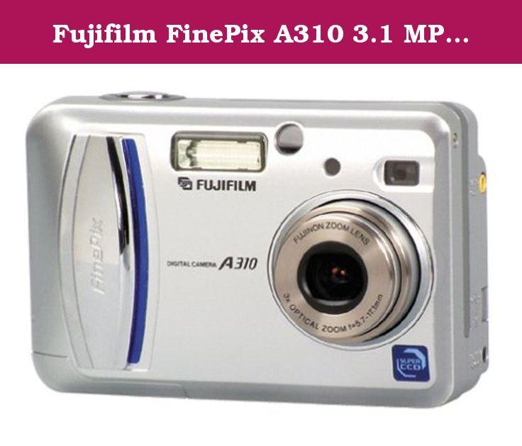 Fujifilm Finepix A310 3 1 Mp Digital Camera W 3x Optical Zoom 3 1 Megapixel Sensor Captures Enough Detail To Creat Digital Camera Best Digital Camera Finepix
