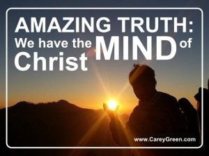 Image result for picture we have the mind of Christ