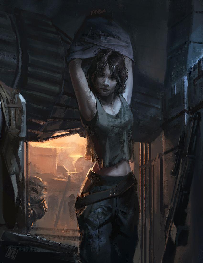 Jyn Erso by Raph Lomotan | Illustration | 2D | CGSociety