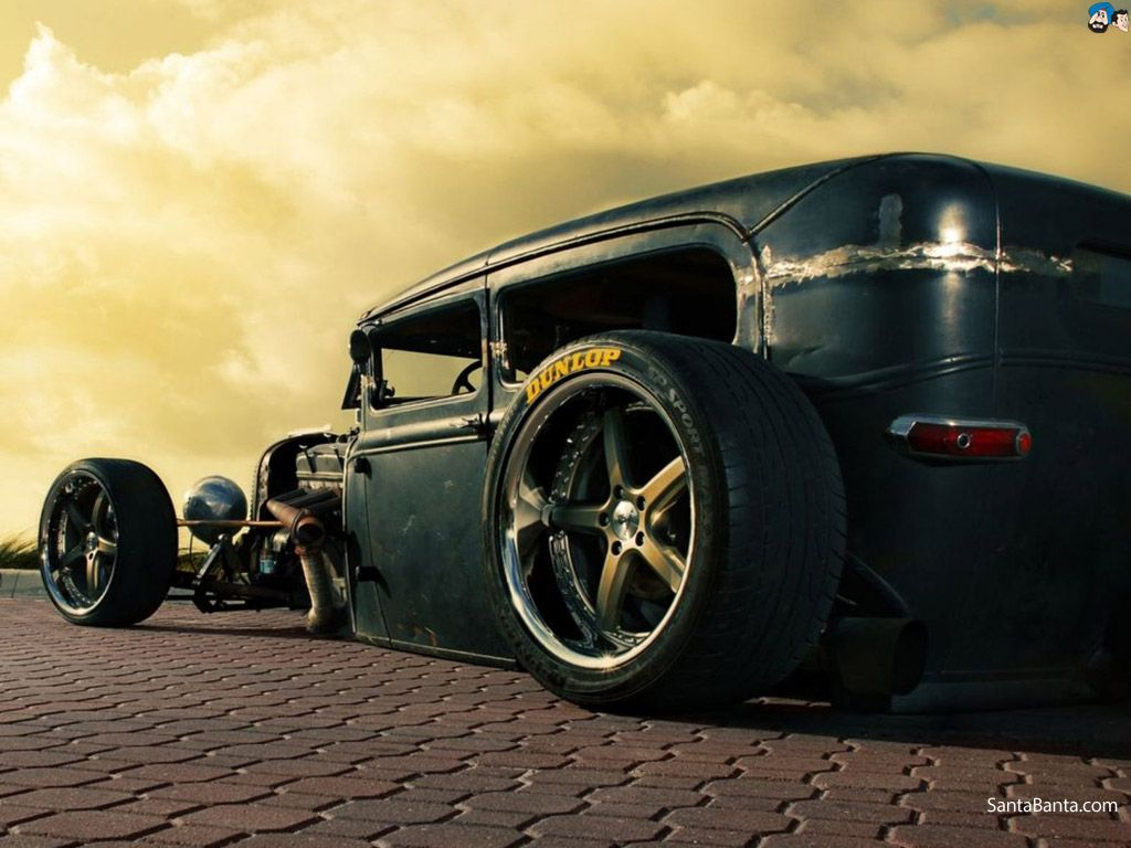 Free Classic Car Wallpaper Desktop Background Rat Rod Rat Rod