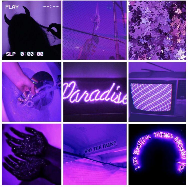 Neon Purple Aesthetic Wallpaper Purple Aesthetic Neon Purple Aesthetic Wallpapers