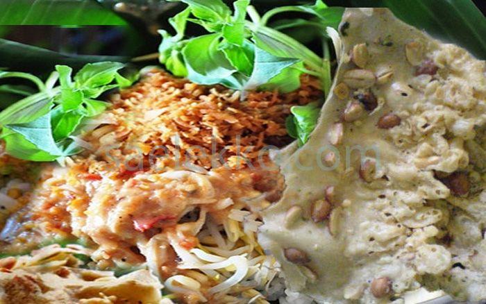 Rahasia Resep Bumbu Nasi Pecel Madiun Asli Resep Makanan Makanan Resep Masakan