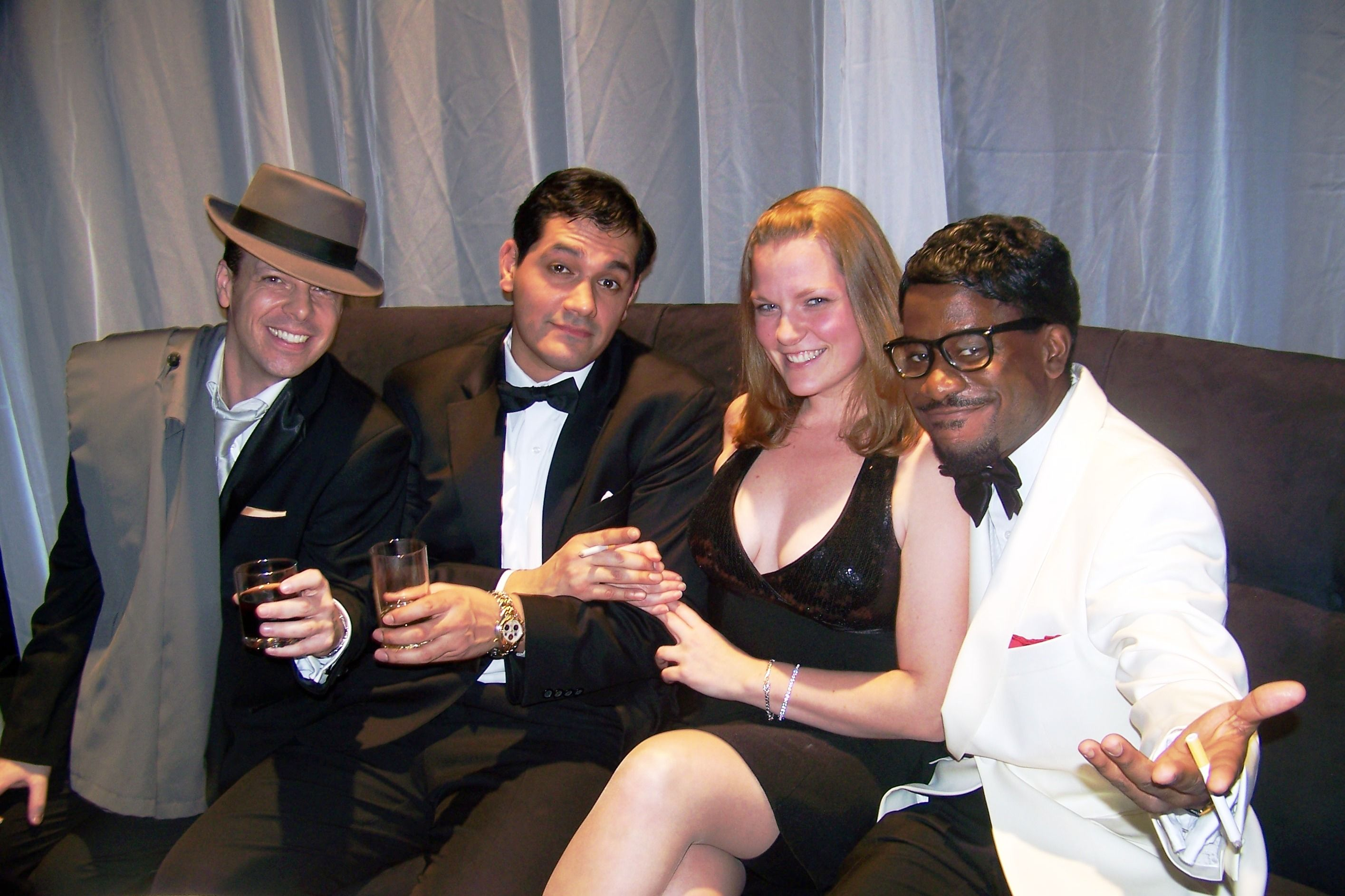EBE Celebrity Impersonators Wowed This Guest At Rat Pack Themed