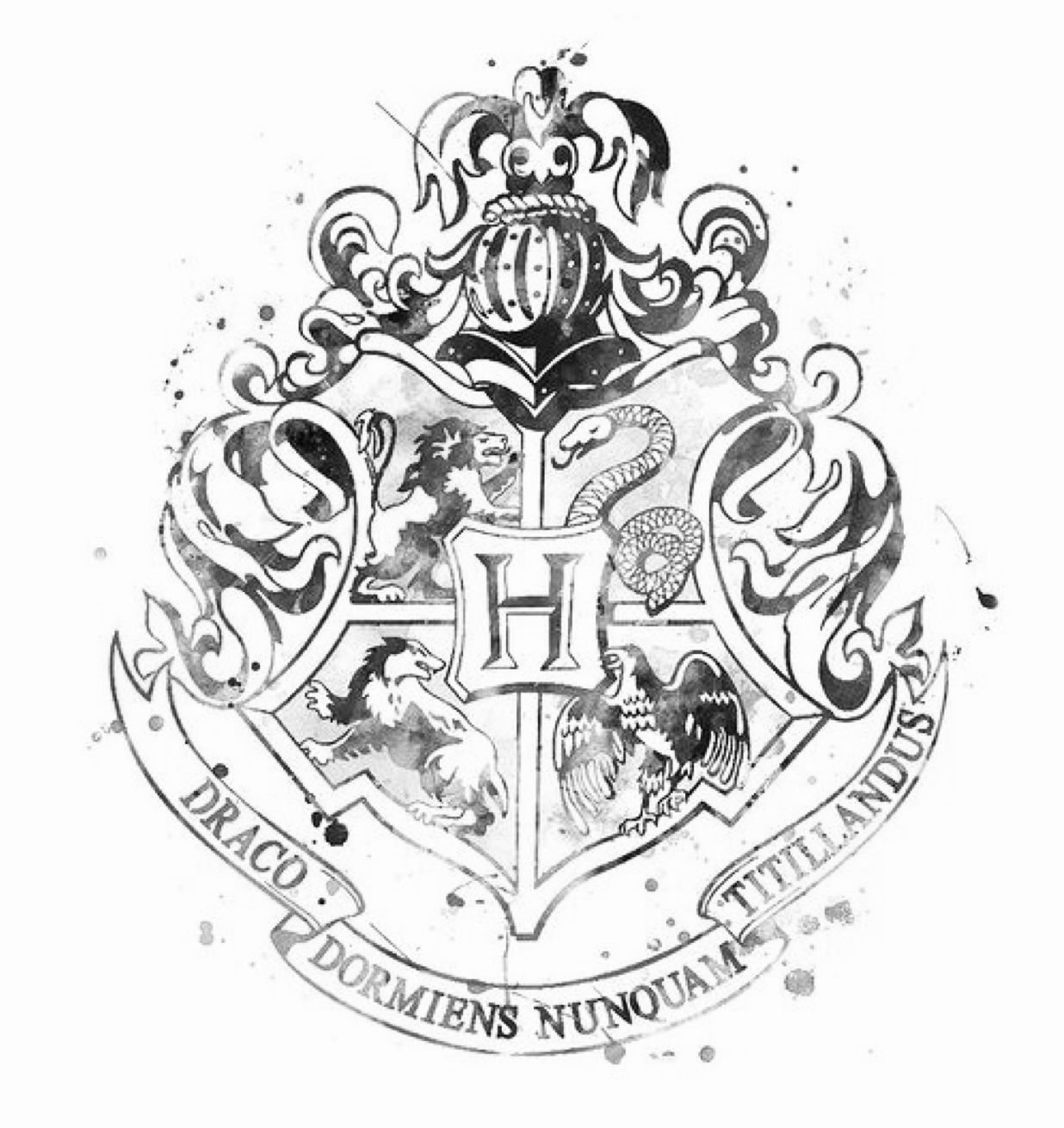 Harry Potter Black And White Aesthetic Harry Potter Tattoos Harry Potter Bildschirmhintergrund Harry Potter Zeichen