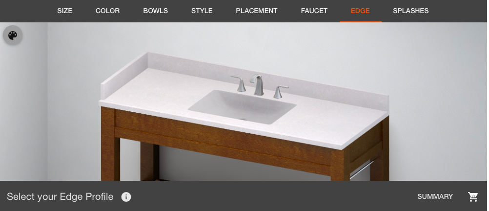 Home Depot Solid Surface In Biscay