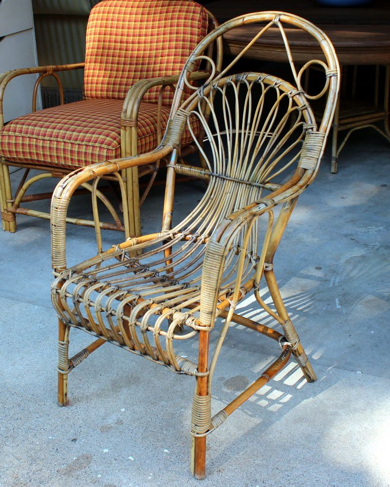 bamboo rattan chairs. antique vintage french colonial bentwood bamboo rattan stick wicker cafe chair chairs b