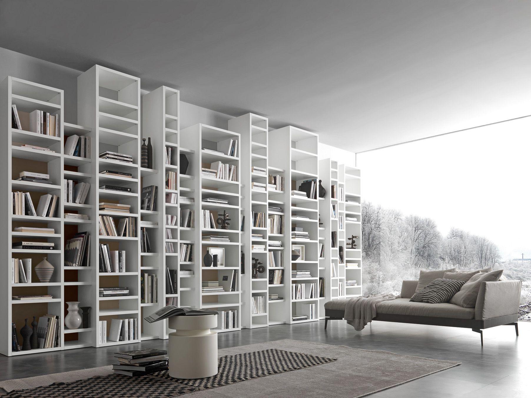 Libreria A Muro Moderna Ikea libreria pari&dispari (con immagini) | design libreria di