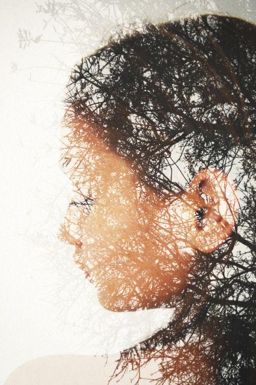 Portrait- Landscape Double exposure by Andre de Freitas