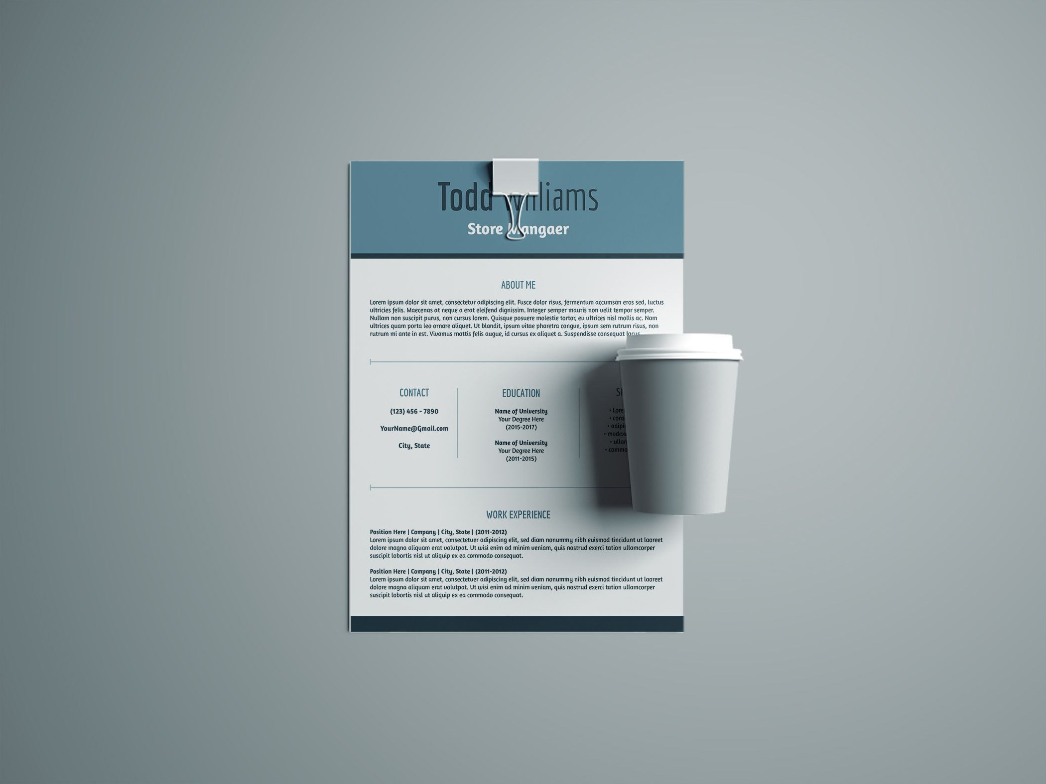 Stand out in your next interview with a resume and cover