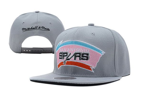 NBA San Antonio Spurs Snapback Mitchell And Ness Gray 117! Only  8.90USD 78b1b57870d