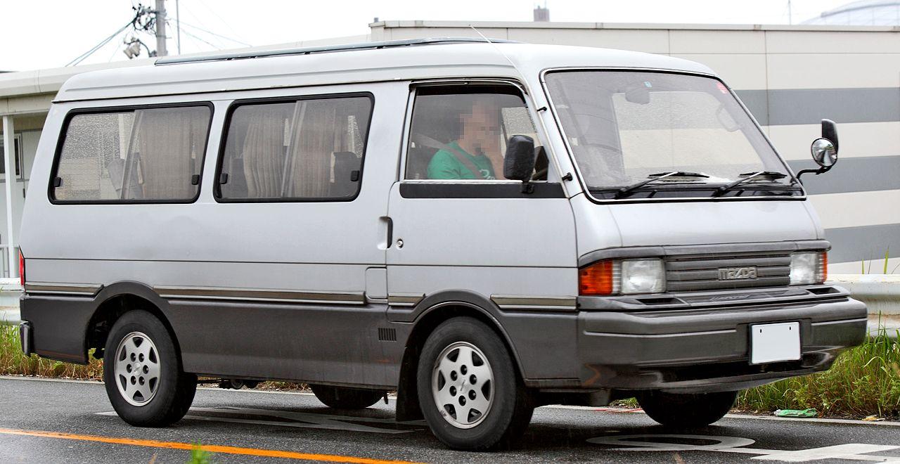 Mazda bongo 1000 long wheel base version a k a the bongo brawney wagon