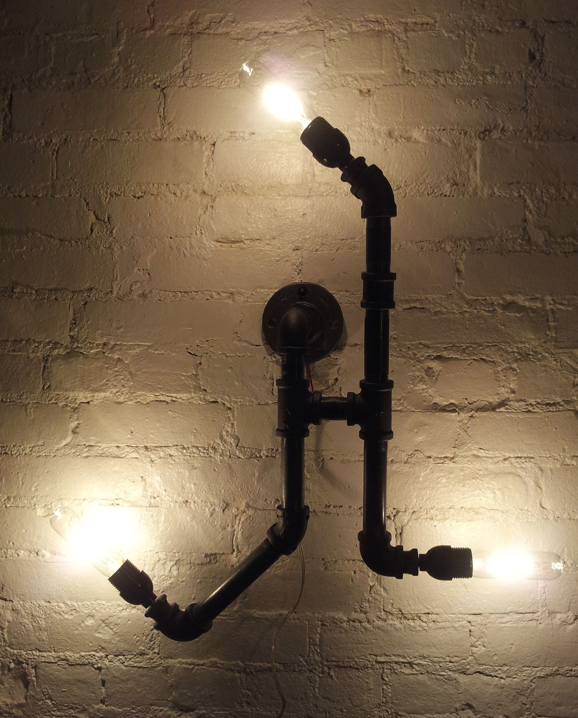 Model No  14 Gas pipes light fixtures  Lighting  Pipe