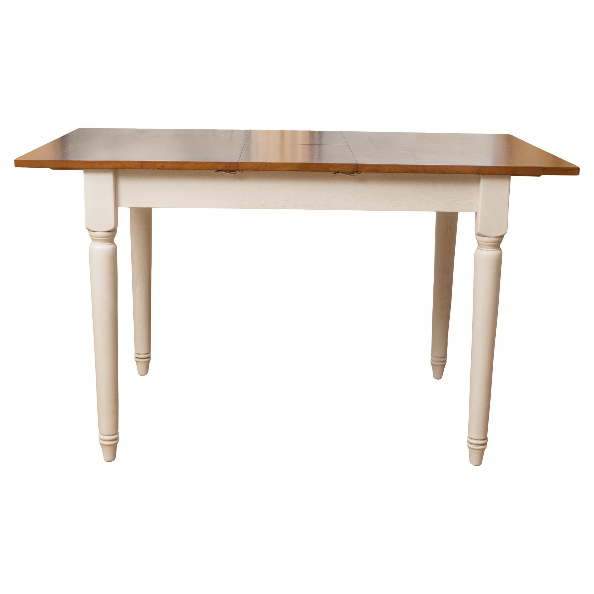 Clearwater Dining Table with Leaf Extension Wood/Dark Oak ...