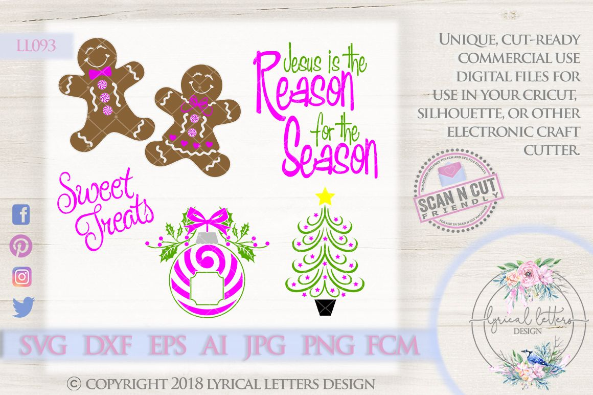 Pin on Christmas Collection by Lyrical Letters Design