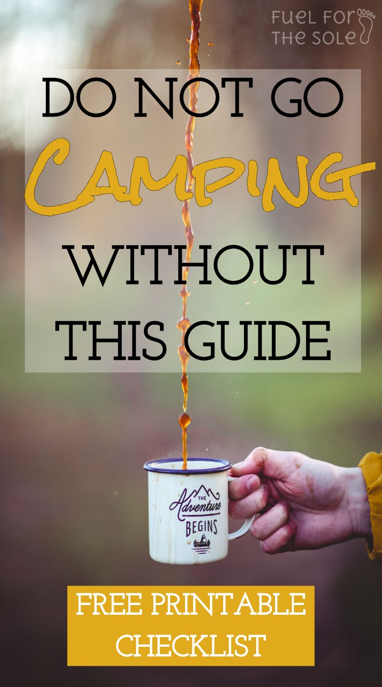 Photo of Complete Camping Packing List & Free Printable Checklist | Gear | Tips | Hiking- Fuelforthesole.com