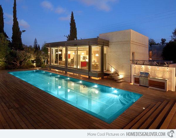 15 lovely swimming pool house designs modern exteriorexterior houseshouse