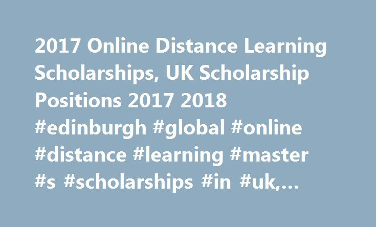 2017 Online Distance Learning Scholarships, UK Scholarship Positions - Resume Sample For Pennsylvania University