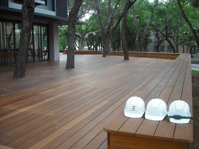 The cheapest porch flooring material in the Asia Pacific region