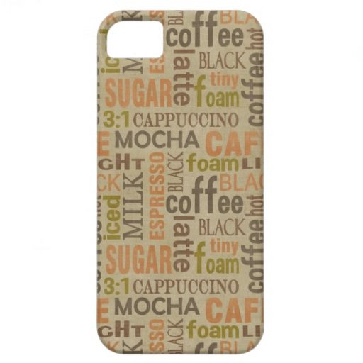 Coffee Words iPhone 5 Case #42.30