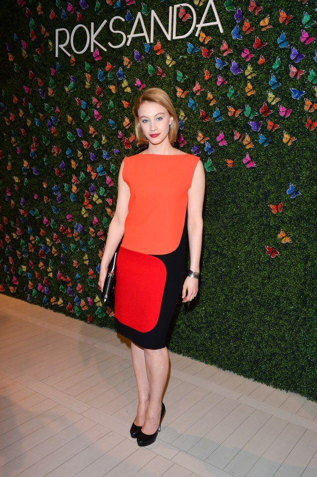 Actress Sarah Gadon and Toronto's fashion scene welcome designer Roksanda Ilinčić to The Room at The Hudson's Bay Company.