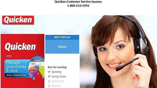 USA/Canada Quicken customer service phone number 1-800-513