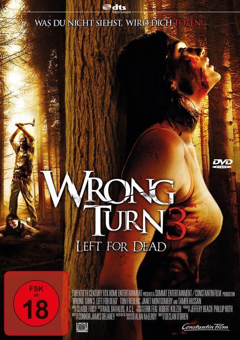 Wrong Turn 3 Left For Dead 2009 Camino Hacia El Terror El Terror Ver Peliculas