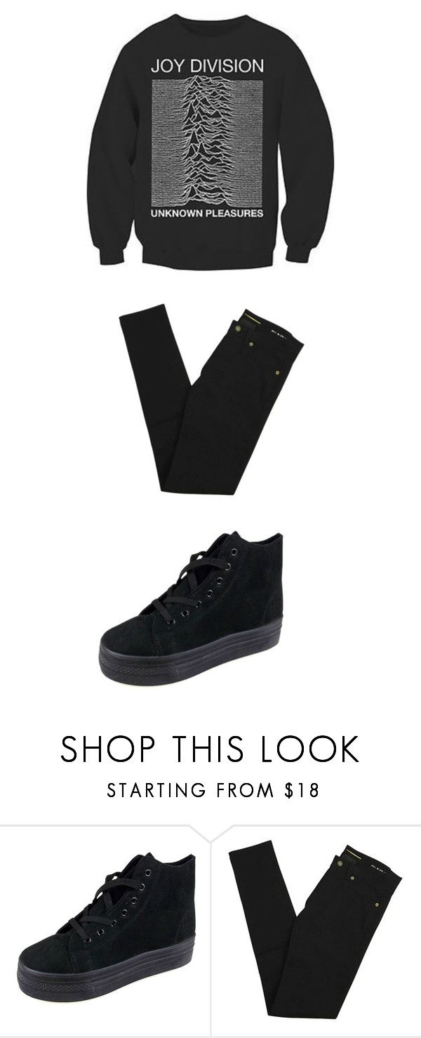 """""""Sin título #339"""" by thewhitebruja on Polyvore featuring moda, Glamorous y Yves Saint Laurent"""