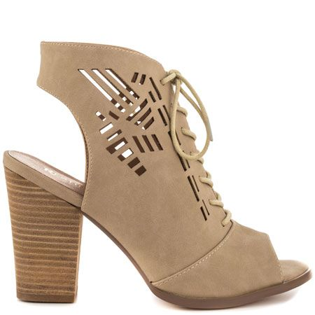 Restricted Wanda - Taupe can be shopped from #Heelscom Online Store with Discount Codes and Promotions.