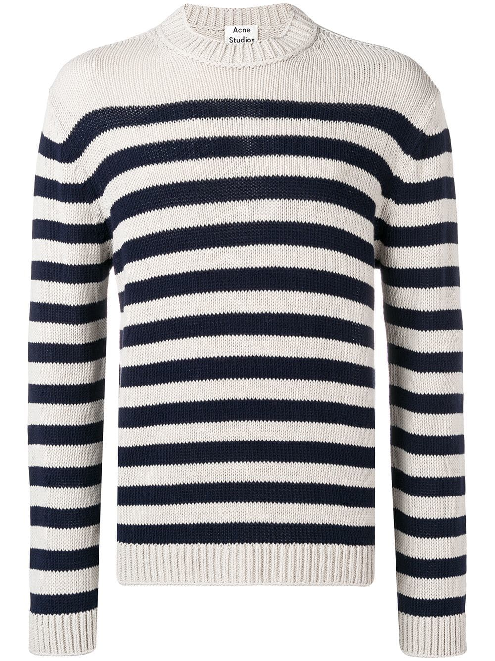 536d20d714c2 Acne Studios Breton striped sweater - Blue in 2019 | Products | Blue ...