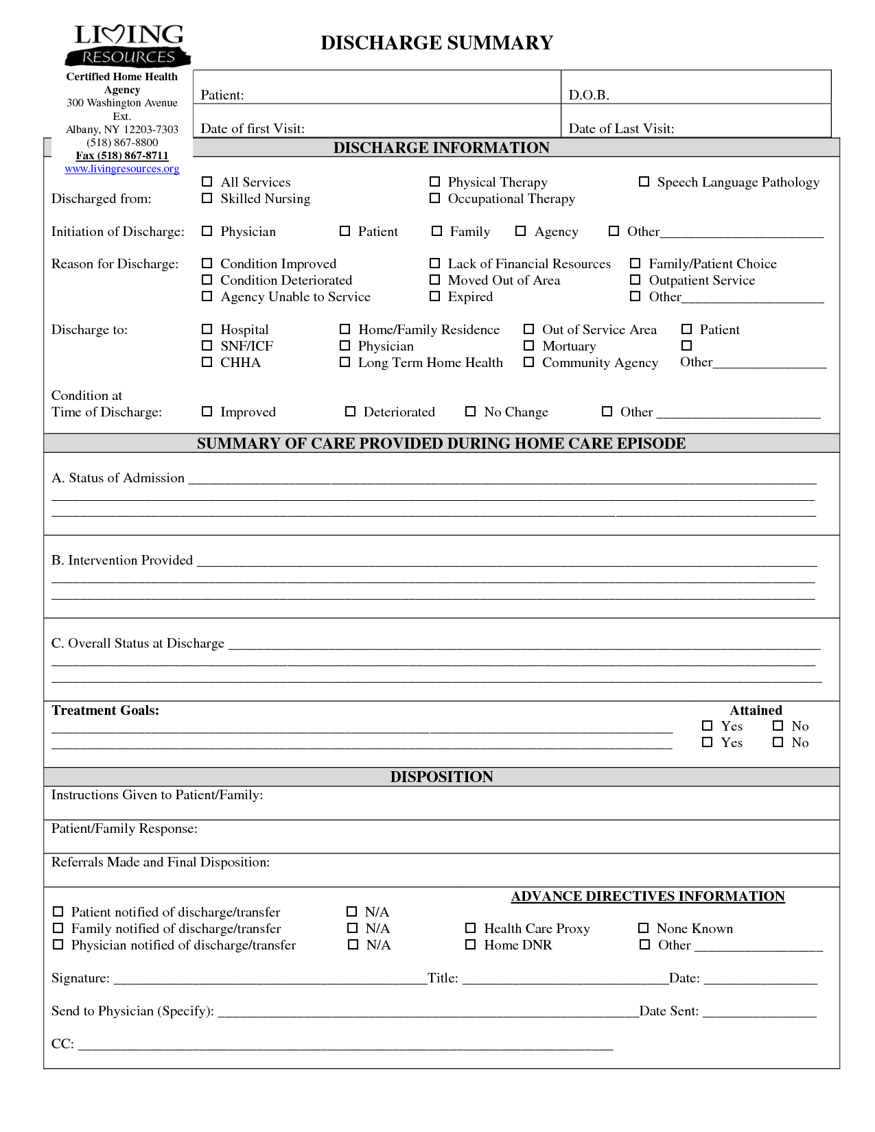 Stroke Progress Note Physical Therapy Template
