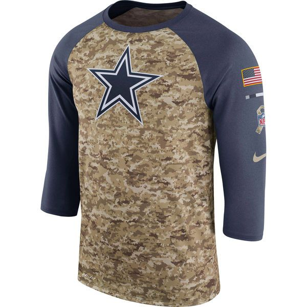 low priced b1527 90d7f Cowboys Mens Nike Salute to Service Sideline Legend ...