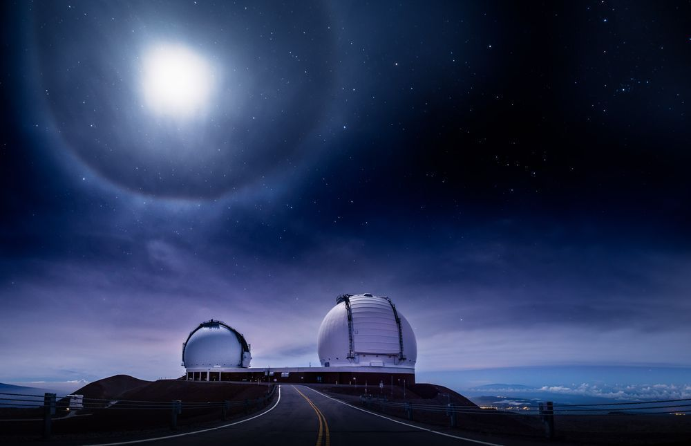 Magnificent Twins Photo by Andrew Hara, Keck, Maunakea, HI — National Geographic Your Shot