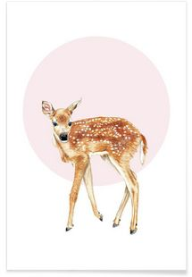 4660ce0f986a Bambi - Janine Sommer - Affiche premium