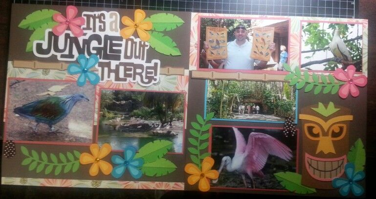 Disney scrapbooking, out on a limb scrapbooking pages