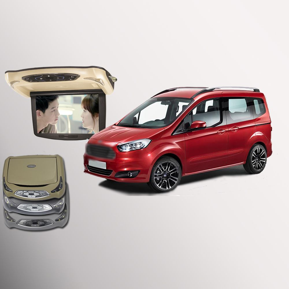 Bigbigroad For Ford Tourneo Courier Car Roof Mounted In Car